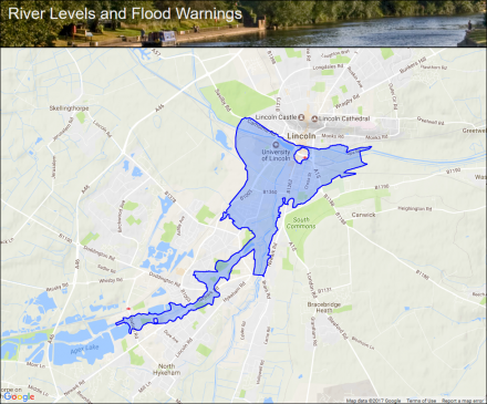 Lincoln Watercourses :: Flood alerts and warnings :: the UK ... on world flood map, china flood map, flood risk map, peru flood map, myanmar flood map, uk floods latest, va flood map, norway flood map, mn flood map, cs flood map, al flood map, usa flood map, nc flood map, sc flood map, ky flood map, dc flood map, flood warning map, tx flood map, california flood map, cuba flood map,