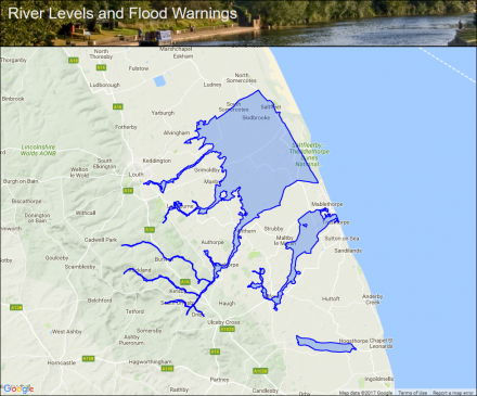 Map Of Uk East Coast.Lincolnshire East Coast Rivers Flood Alerts And Warnings The