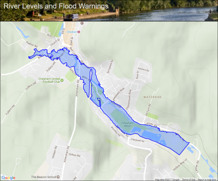 River Chess at Chesham :: Flood alerts and warnings :: the ...