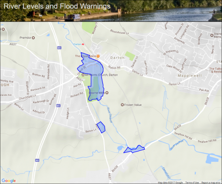 River Dearne at Darton and Barugh :: Flood alerts and warnings ... on