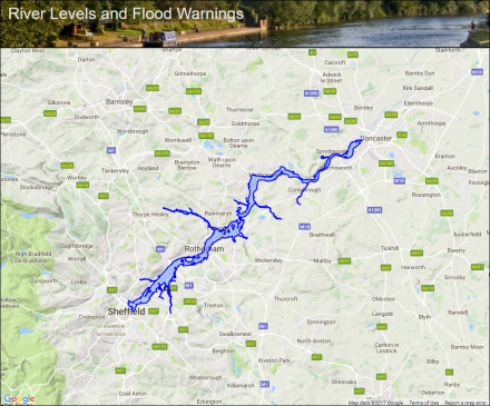 Middle River Don :: Flood alerts and warnings :: the UK ...