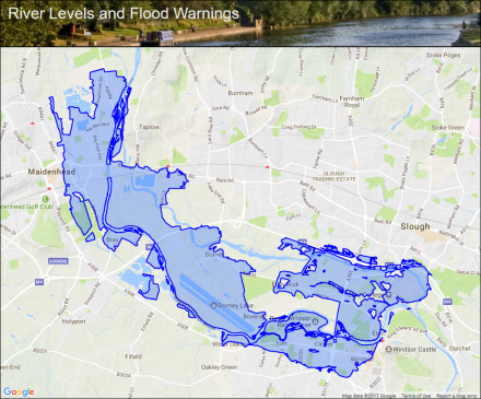 River Thames At Maidenhead To Windsor And Eton Flood Alerts And