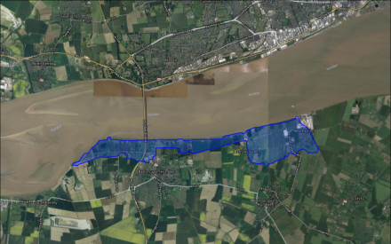 Tidal flooding of low-lying areas from Barton upon Humber ...